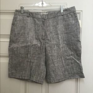 New Talbots Gray Dress Shorts